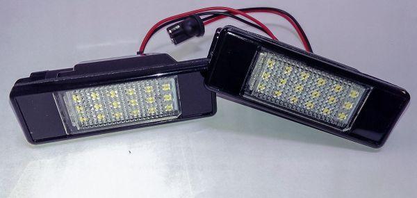 Led kennzeichenbeleuchtung mit pr fzeichen nissan qashqai for Nissan juke licht